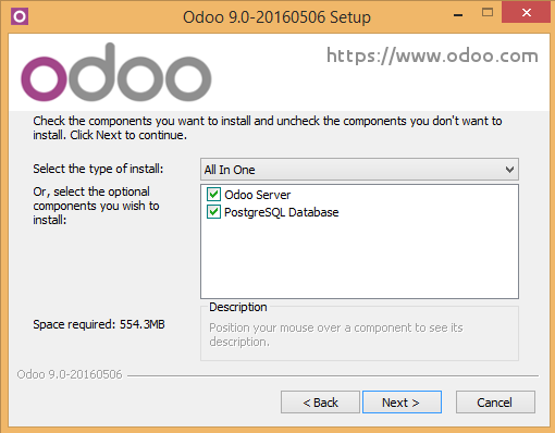 odoo 9 windows